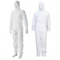 Casey Non Woven Disposable Full Body Coverall Suit large