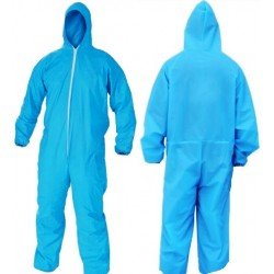 Casey Non Woven Disposable Full Body Coverall Suit -Size Large