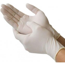 Casey Caretex Powder Free Latex Disposable Gloves Box of 100