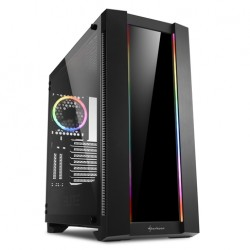harkoon Elite Shark CA200G RGB Extended ATX Tempered Glass, Midi Case