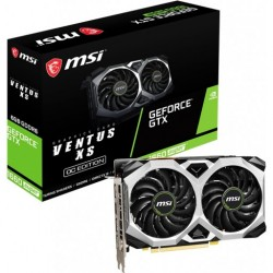 MSI GeForce GTX 1660 SUPER VENTUS XS OC 6GB GDDR6 192-bit PCI-E 3.0 Desktop Graphics Card new